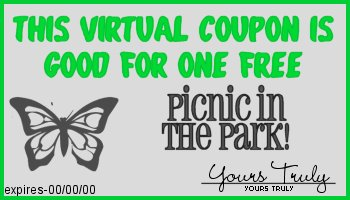 picnic in the park coupon