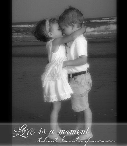 love is a moment that lasts forever