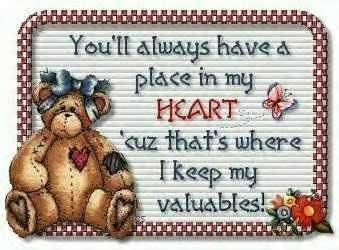 youll always have a place in my heart