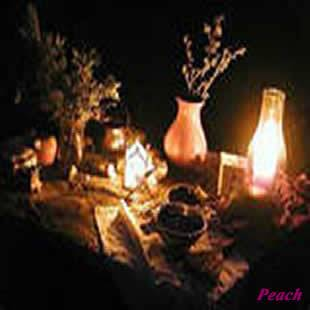 candles lighting table setting