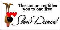 slow dance coupon