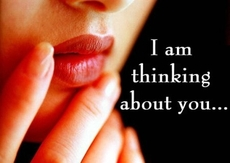 i am thinking about you
