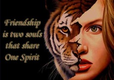 friendship is two souls that share one spirit