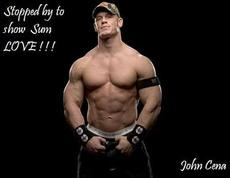 stopped by to show sum love john cena wwe