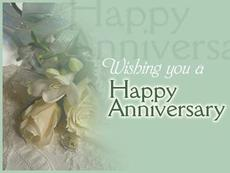 wishing you a happy anniversary