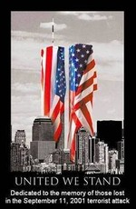united we stand dedicated to the memory of those lost in the september 11 2001 terrorist attack