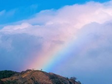 Rainbow Over the Montain