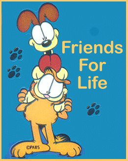 friends for life garfield