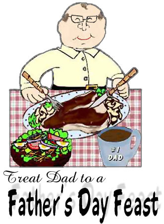 treat a dad to a father's day feast
