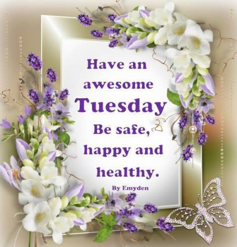 Have an awesome Tuesday