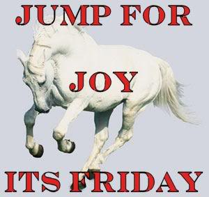 jump for joy its friday