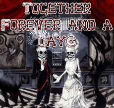 together forever and a day - skeletons in love