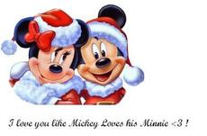 i love you like mickey loves his minnie