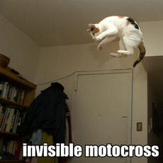 invisible motocross