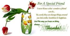 for a special friend