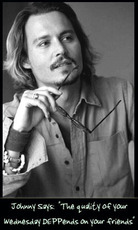wednesday johnny depp
