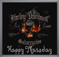 happy thursday harley davidson
